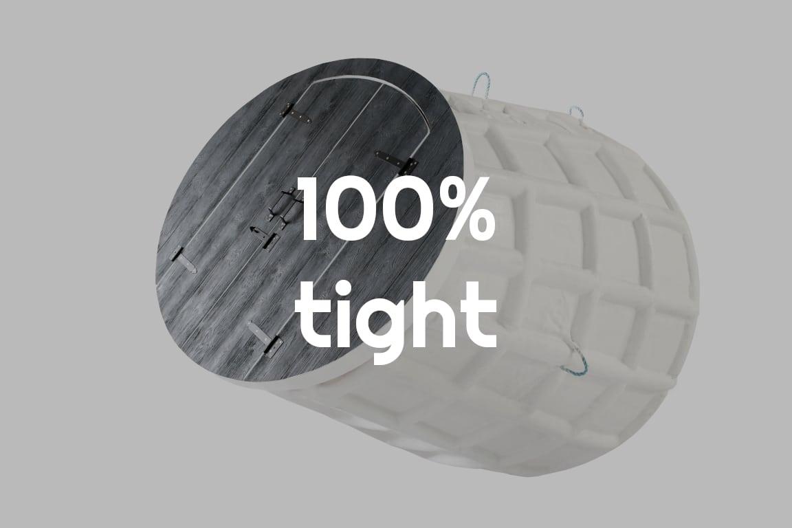100% tight